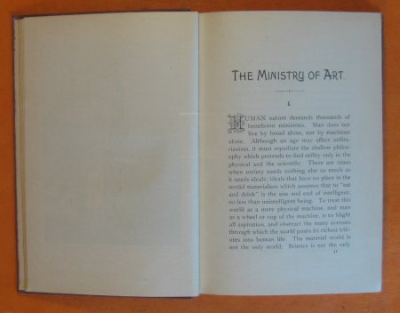 Image for Ministry of Art, The