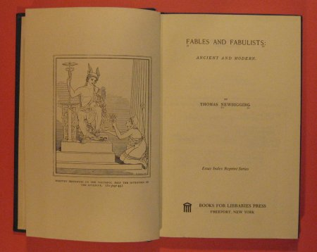 Image for Fables and Fabulists: Ancient and Modern