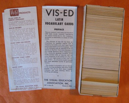 Image for Latin Vis-Ed Vocabulary Cards