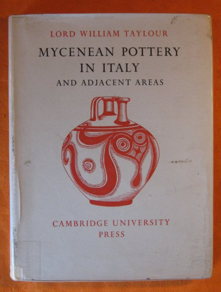 Image for Mycenean Pottery in Italy and Adjacent Areas