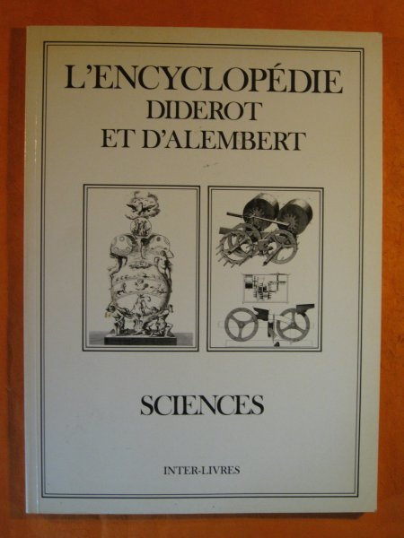 Image for L'encyclopedie Diderot et D'alembert:  Sciences