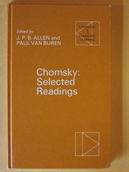 Image for Chomsky: Selected Readings