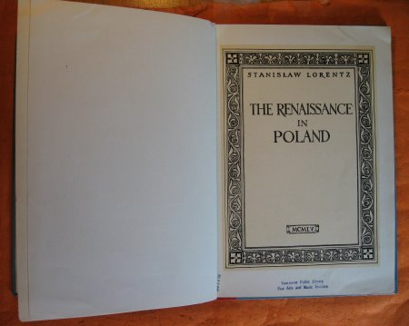 Image for Renaissance in Poland, the