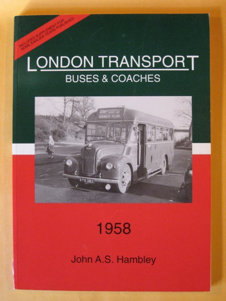 Image for London Transport Buses and Coaches 1958