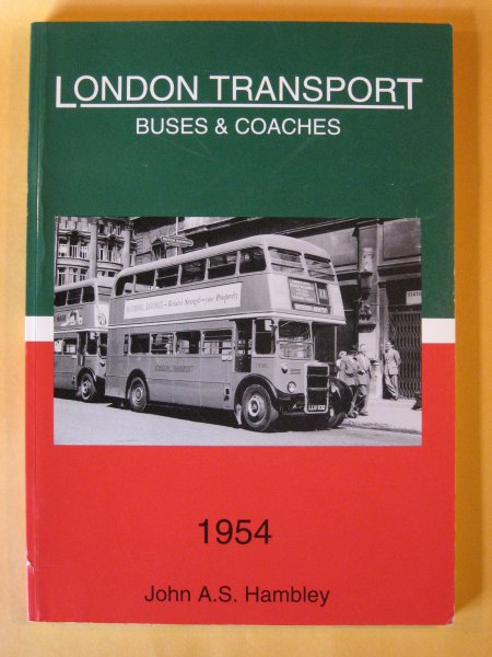 Image for London Transport Buses and Coaches 1954