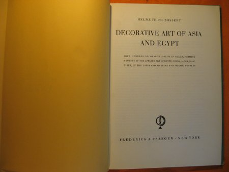 Image for Decorative Art of Asia and Egypt
