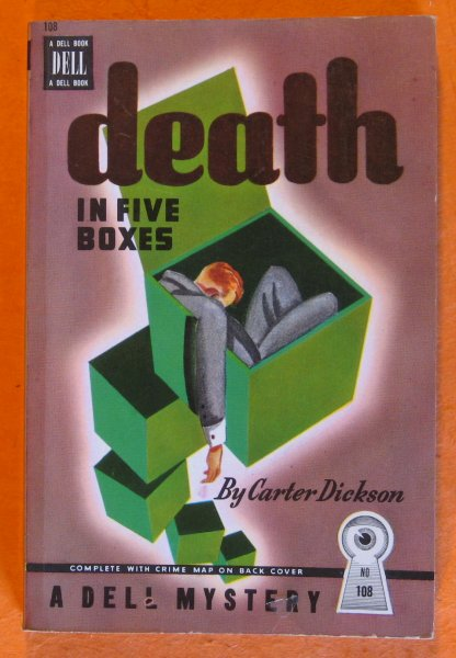Image for Death in Five Boxes (Dell Book No. 108)