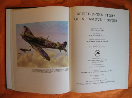 Image for Spitfire - The Story of a Famous Fighter