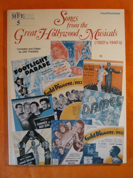Image for Songs from the Great Hollywood Musicals (1920's-1940's)