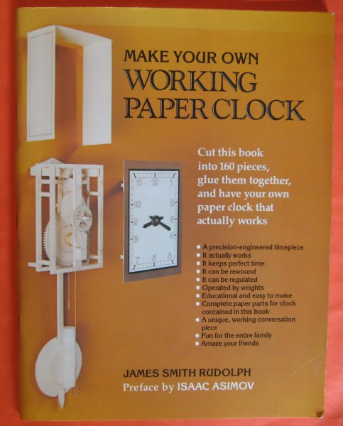 Image for Make Your Own Working Paper Clock