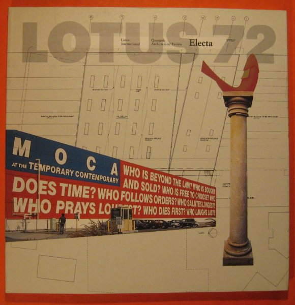 Image for Lotus 72  Quarterly Architectural Review
