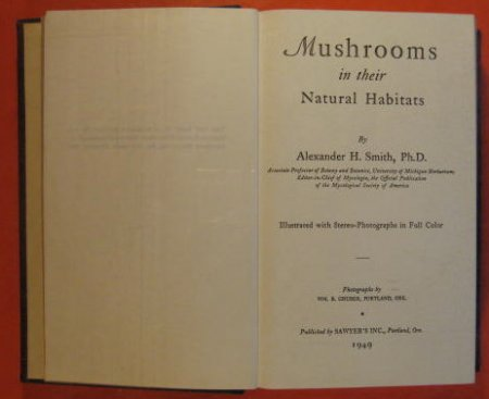 Image for Mushrooms in Their Natural Habitats  (Volume 1)