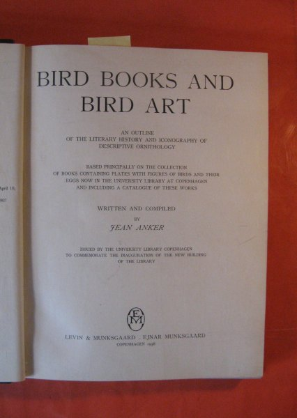 Image for Bird Books and Bird Art: An Outline of the Literary History and Iconography of Descriptive Ornithology