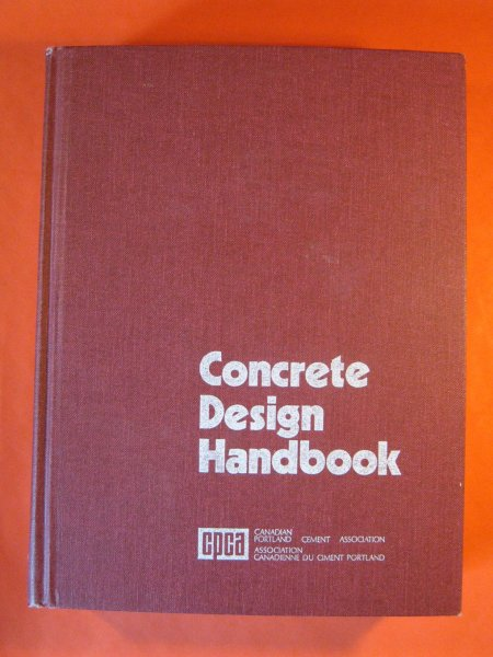 Image for Concrete Design Handbook