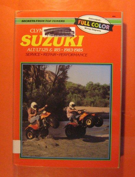 suzuki lt 125 wiring diagram suzuki alt   lt125  1983 1985 service  repair  performance  suzuki alt   lt125  1983 1985