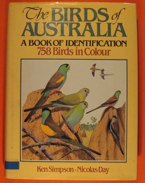 Image for Birds of Australia: A Book of Identification