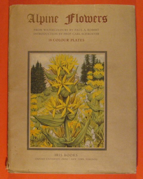 Image for Alpine Flowers:  18 Colour Plates from Watercolors