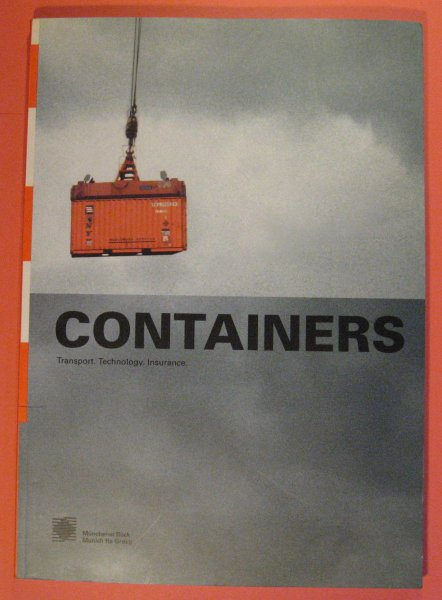 Image for Containers:  Transport.  Technology.  Insurance.
