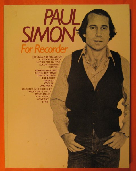 Image for Paul Simon for Recorder
