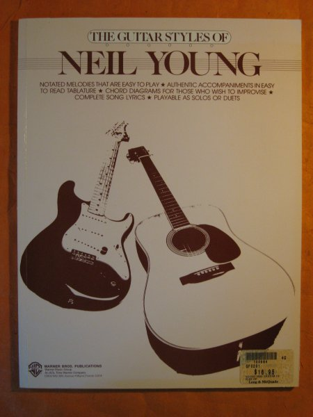 Image for The Guitar Styles of Neil Young