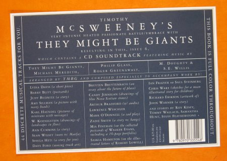Image for McSweeney's, No. 6: They Might Be Giants