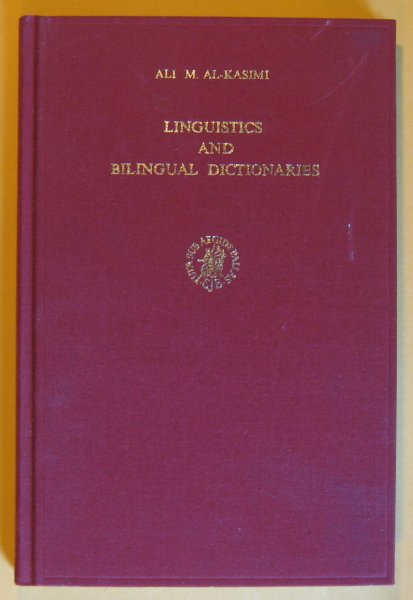 Image for Linguistics and Bilingual Dictionaries