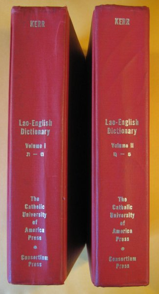 Image for Lao-English Dictionary (Two Volumes)