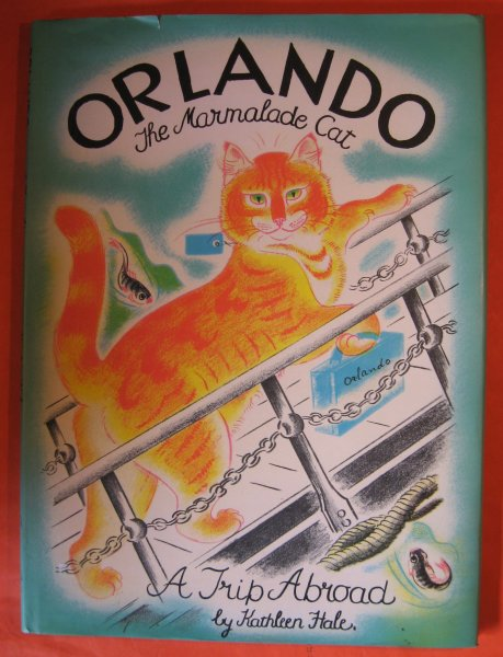 Image for Orlando The Marmalade Cat:   A Trip Abroad