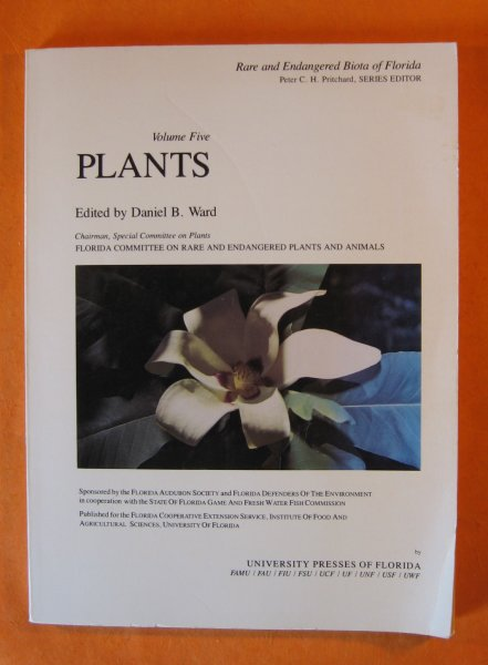 Image for Rare and Endangered Biota of Florida: Plants [Vol. 5]