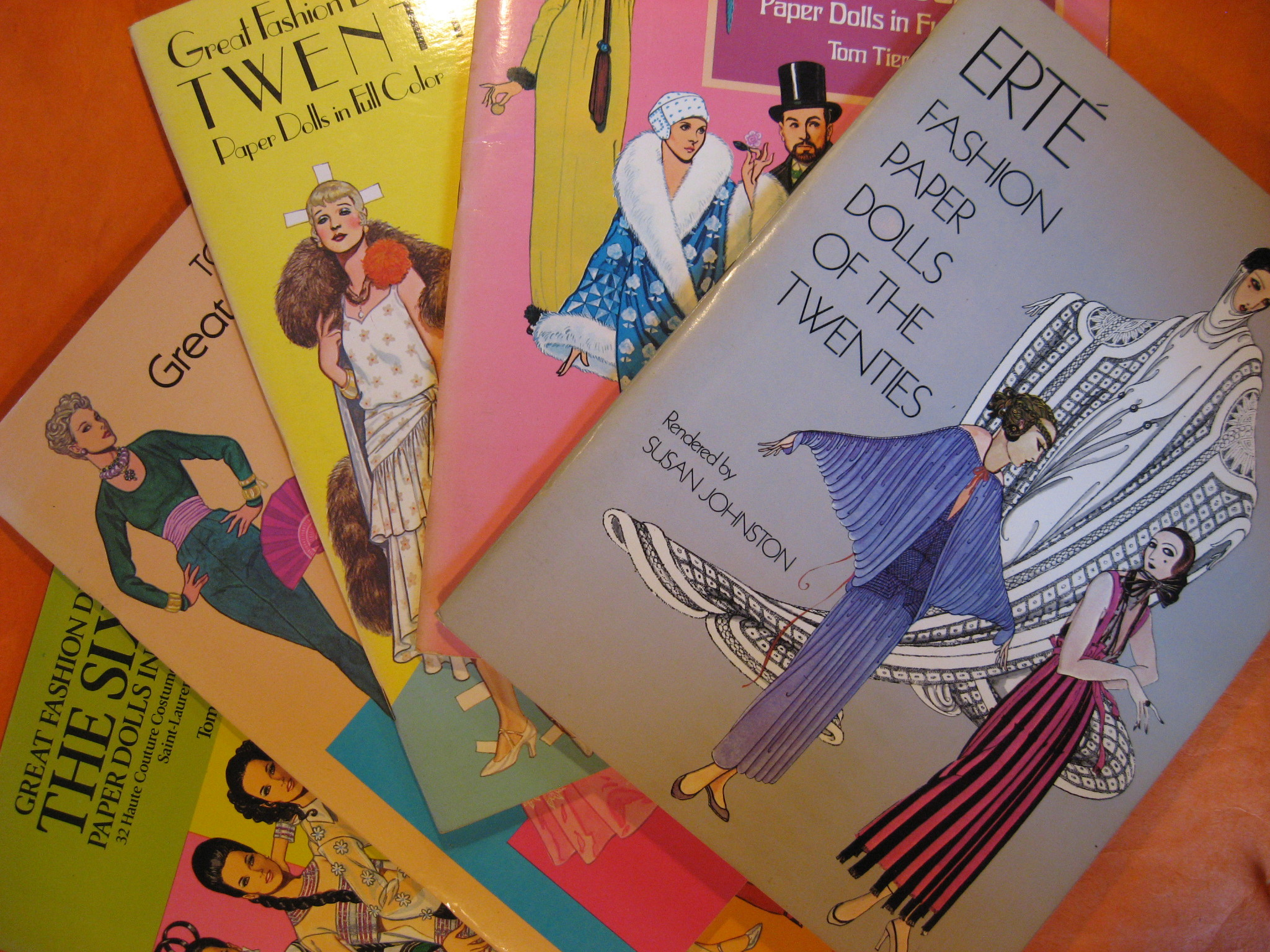 Image for Set of Five Dover Fashion Paper Doll Books