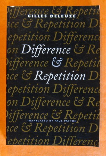Image for Difference and Repetition