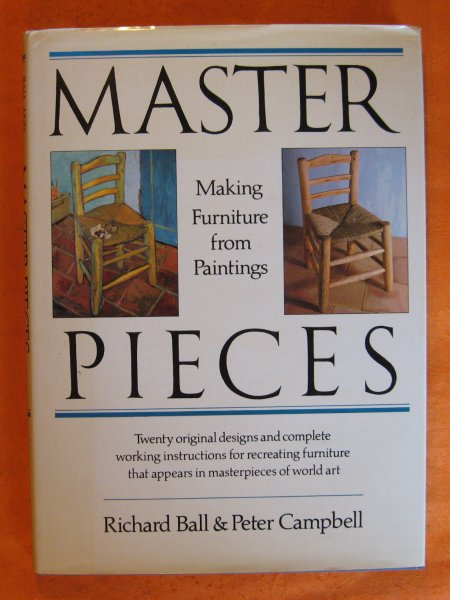 Image for Master Pieces: Making Furniture from Paintings