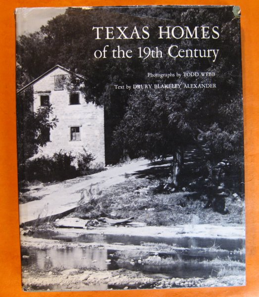 Image for Texas Homes of the 19th Century