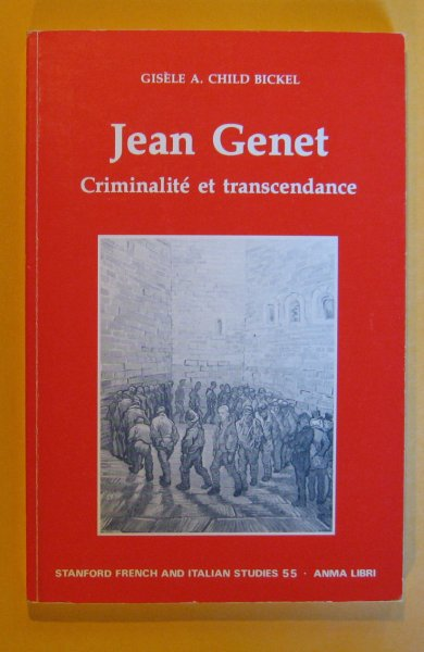 Image for Jean Genet: Criminalite Et Transcendence (Stanford French and Italian Studies) (French Edition)
