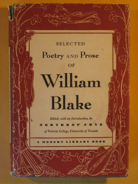 Image for Selected Poetry and Prose of William Blake
