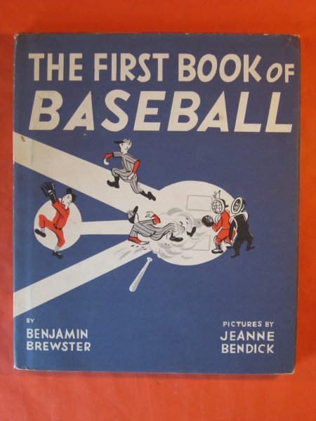 Image for First Book of Baseball, The