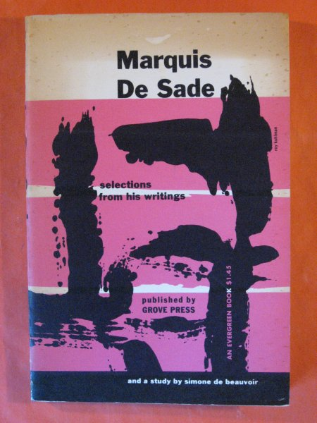 Image for Marquis De Sade: Selections from His Writings