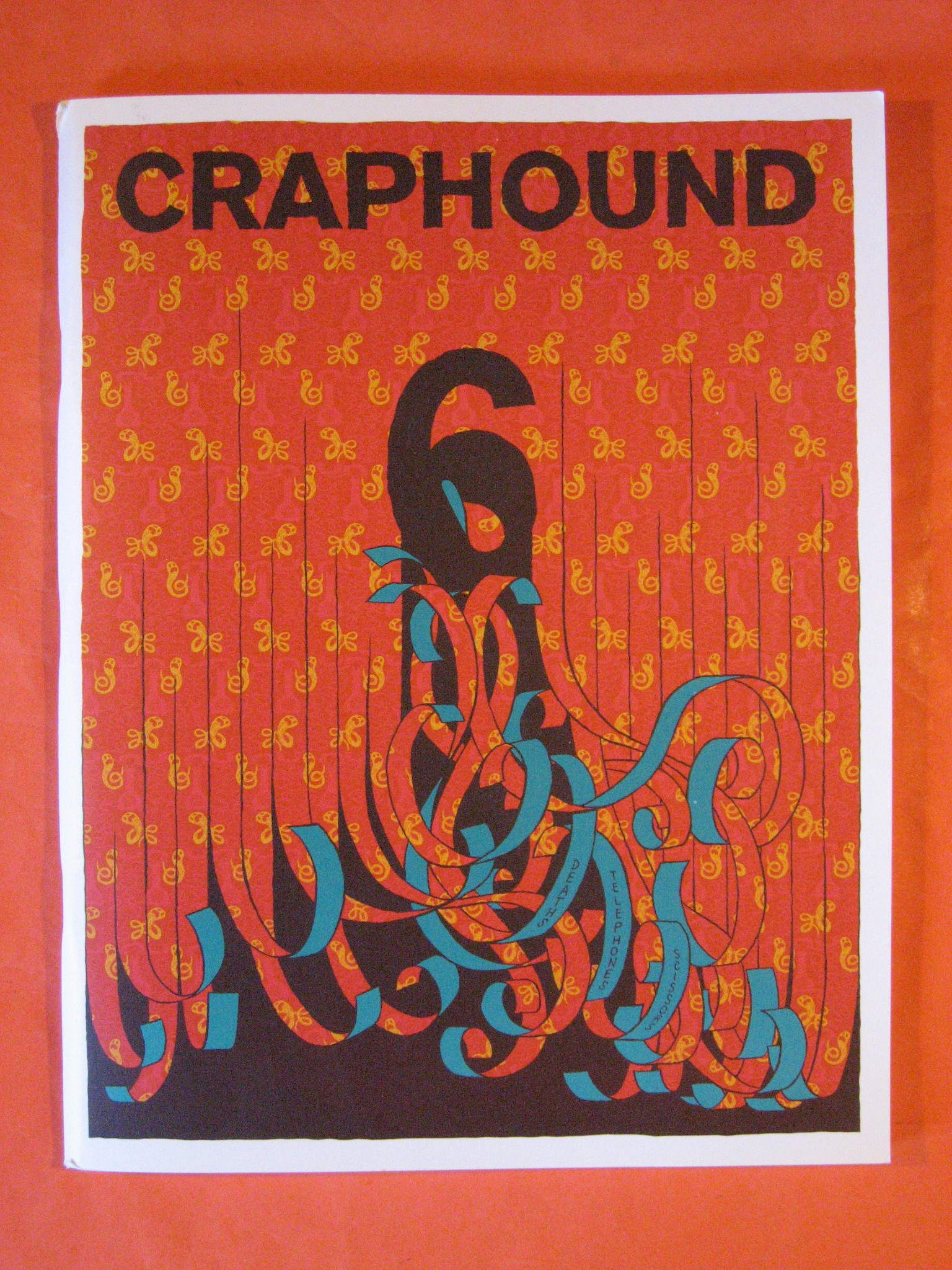Image for Crap Hound #6 ; Death, Telephones & Scissors