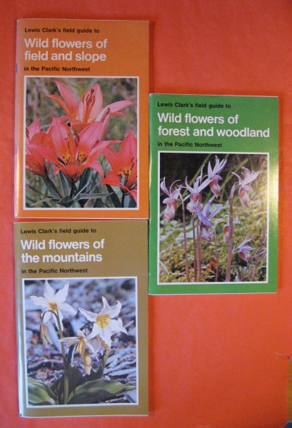 Image for Three Northwest Flower Guidebooks