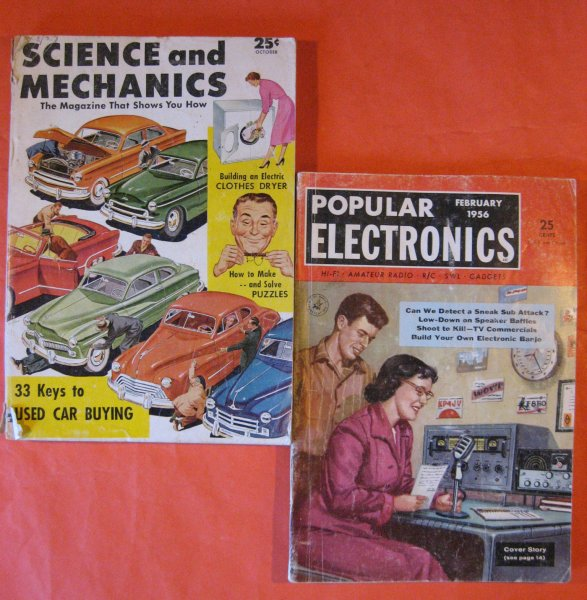 Image for Two Fifties Science Magazines