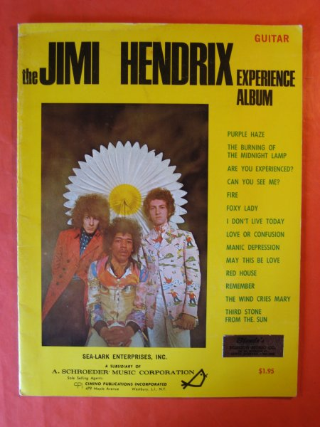 Image for The Jimi Hendrix Experience Album (Guitar)