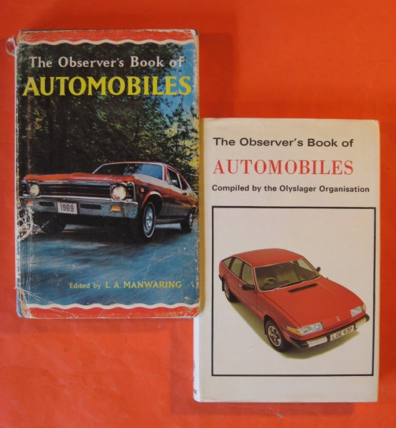 Image for Two Observer's Book of Automobiles