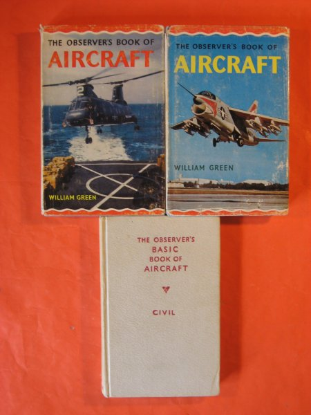 Image for Three Observer's Book of Aircraft