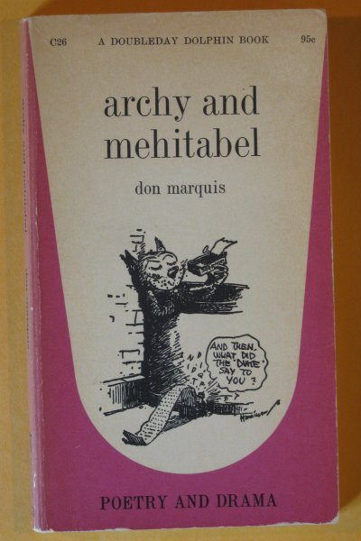 Image for Archy and Mehitabel