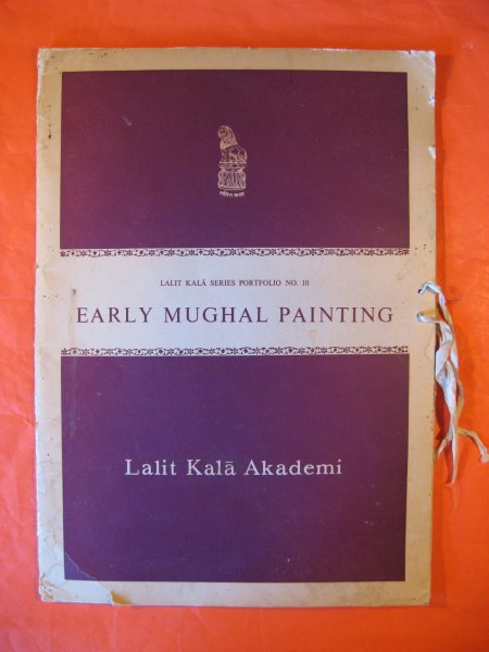 Image for Early Mughal Painting  [lalit Kala Series Portfolio # 10]