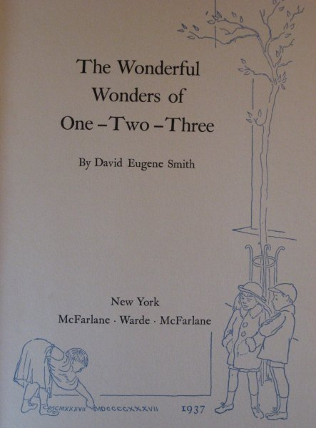 Image for The Wonderful Wonders of One-Two-Three