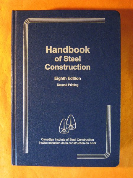 Image for Handbook of Steel Construction; Eighth Edition