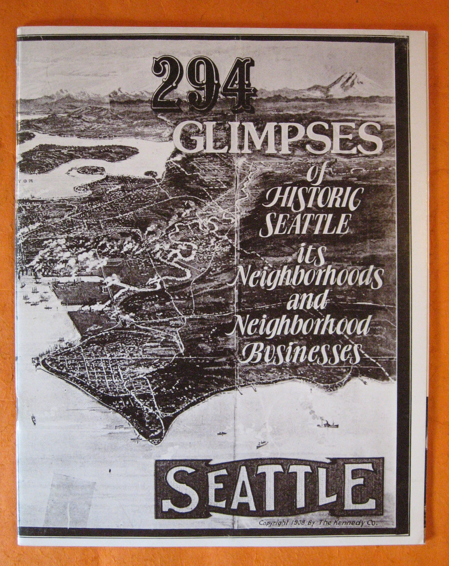 Image for 294 Glimpses of Historic Seattle, Its Neighborhoods and Neighborhood Businesses