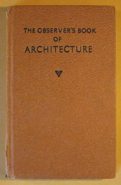 Image for Observer's Book of Architecture