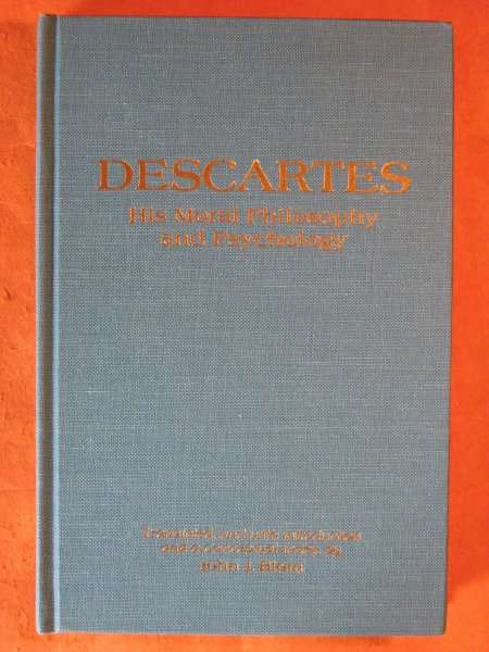 Image for Descartes: His Moral Philosophy and Psychology